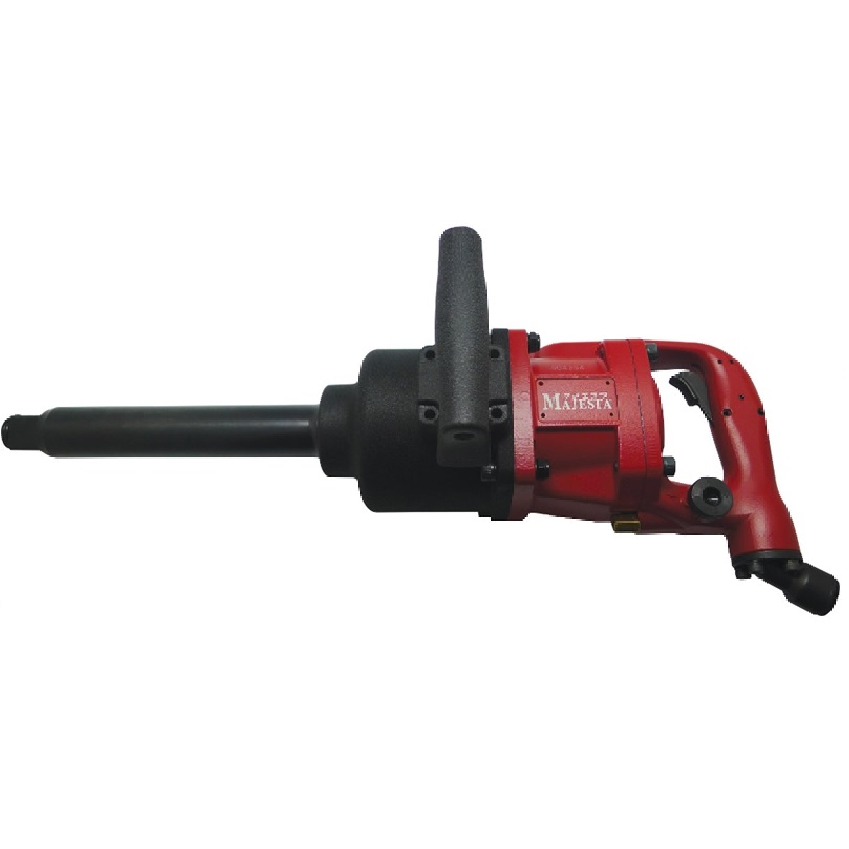 """Majesta WR-812T-8, 1"""" Air Impact Wrench Long Shank"""