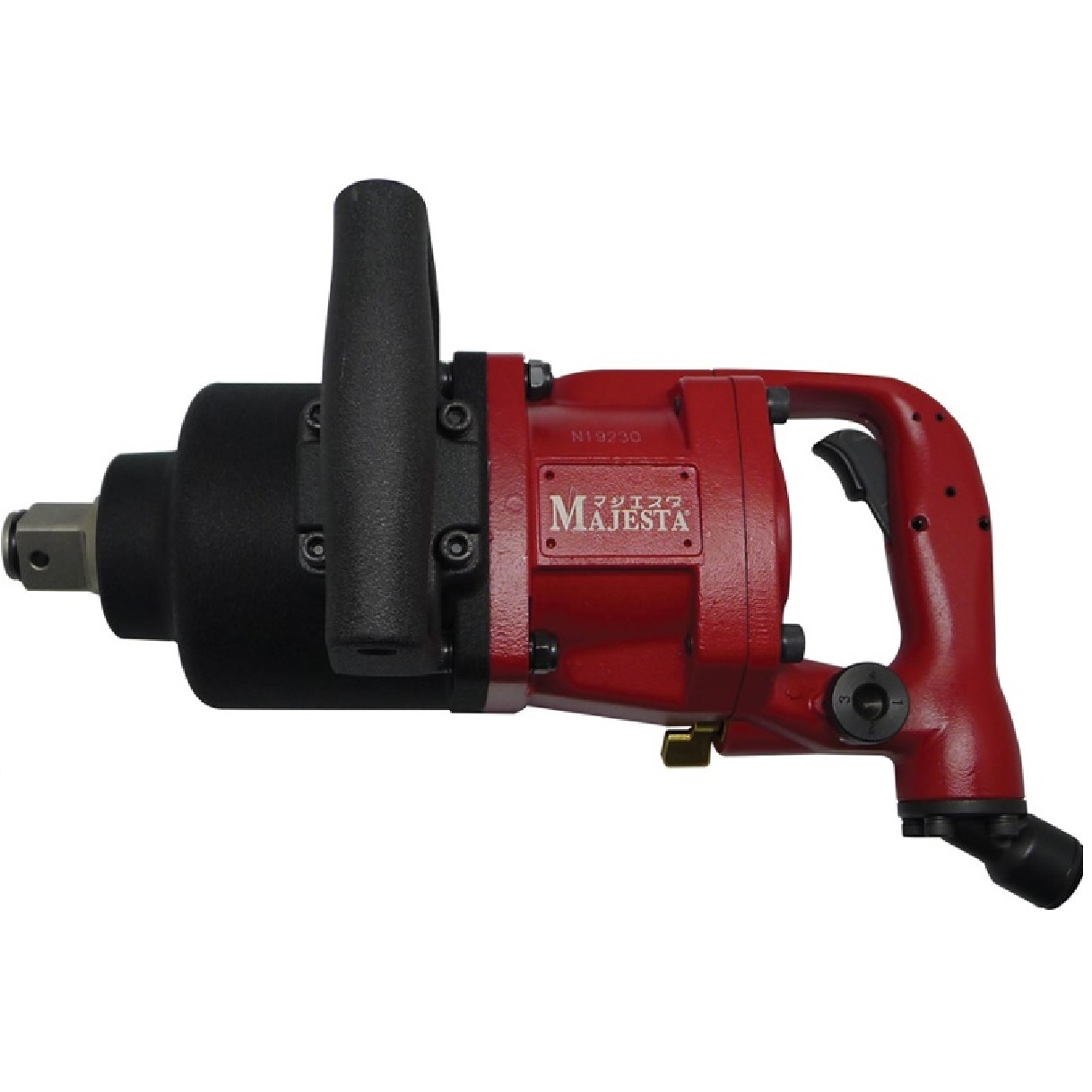 """Majesta WR-812T-2, 1"""" Air Impact Wrench Short Shank"""