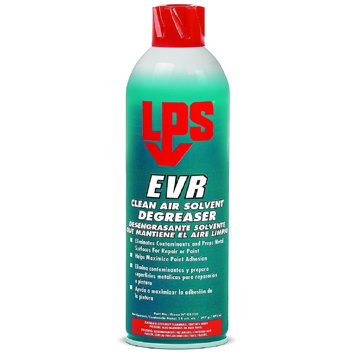 LPS 05220 EVR Clean Air Solvent Degreaser 14oz