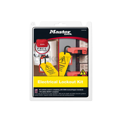 MasterLock Electrical Lockout Kit