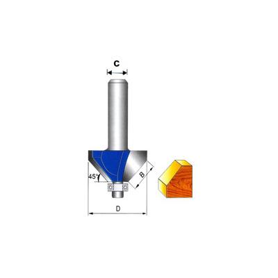 G-Tech 92-6, Tungsten Carbide (45 Deg) Chamfer Bit