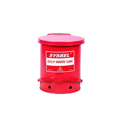 Sysbel Oily Waste Can, 10 GAL