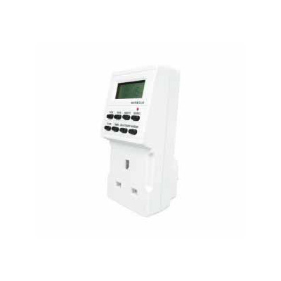Masterclear 24 Hour 7 Day Digital Mains Timer 220V 13Amp Plug