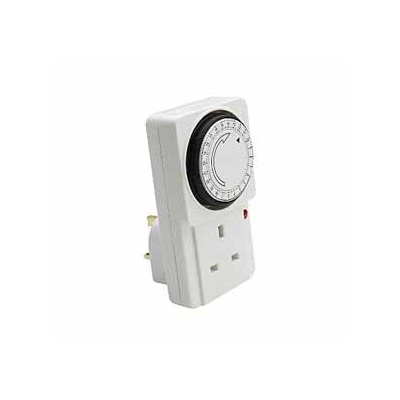 Common Analog Electrical Timer 24 Hours 7 Days 13Amp 220V