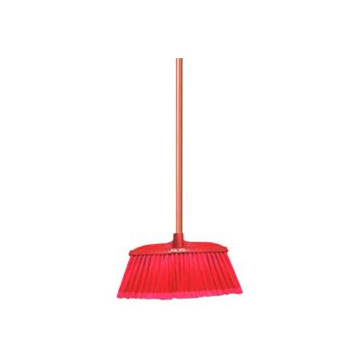 Nylon Broom Soft Bristle w/ Stick