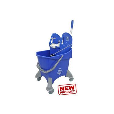 TTS Luxe 30 Mop Bucket w/ Wringer - Blue
