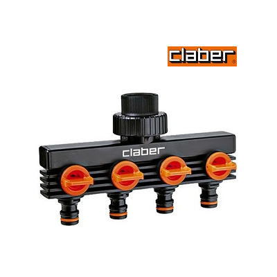 Claber 8581 4 Outlets Distributor