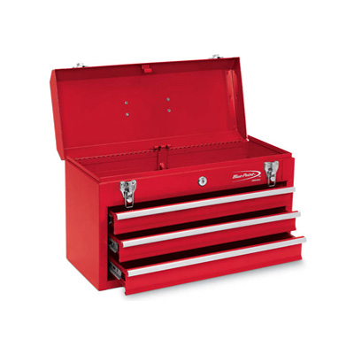 BluePoint KRW183 Box Metal 3 Drawers 20 19/32in x 8 1/2in x 12in Tool Chest KRW183