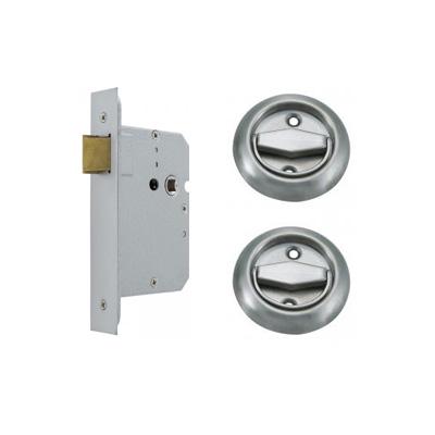 Rowell Door Access Handles w/ 45mm Mortise Night Latch