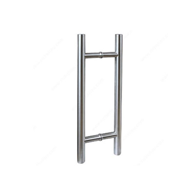 Cylindrical Round Pull Handle SS304 Stainless Steel Door Pull Handle 32 x 1000mm Back to Back