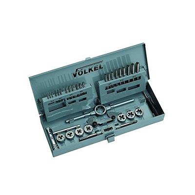 VÖLKEL 49581 M3 To M12 HSS Tap & Die Set High Speed Steel