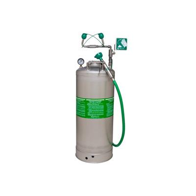 Haws 7601.10.2 Portable Emergency Air Charged Eyewash, Body Spray 13 GAL Tank