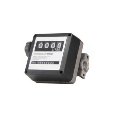 OEM Mechanical 4 Digits Flow Meter For Diesel Pumps