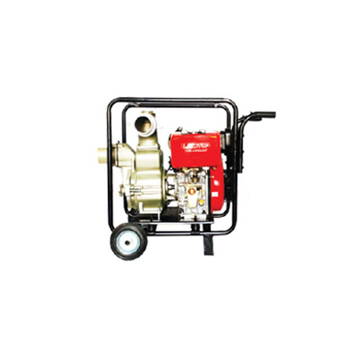 KATO KP-203 High Pressure Self Priming Water Fire Pump Driven By 'YANMAR' Aircooled Diesel Engine Mounted with Full Tubular Frame