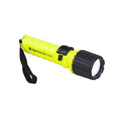 NightSearcher EX160, Safety Approved LED Torch (Powered By 4 x AA Batteries)