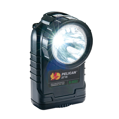 Pelican 3715, Safety Approved, LED Right Angle Flashlight