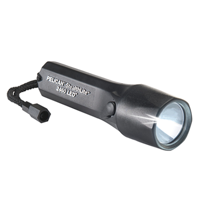 Pelican StealthLite Rechargeable 2460, Safety Approved LED Flashlight