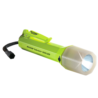 Pelican 2010PL SabreLite, Safety Approved, Submersible LED Flashlight