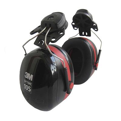 3M H10P3E Peltor Optime 105 Helmet Attachment Earmuff