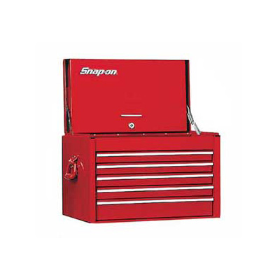 SnapOn KRA2055FPBO, Top Chest, 5 Drawers, Red