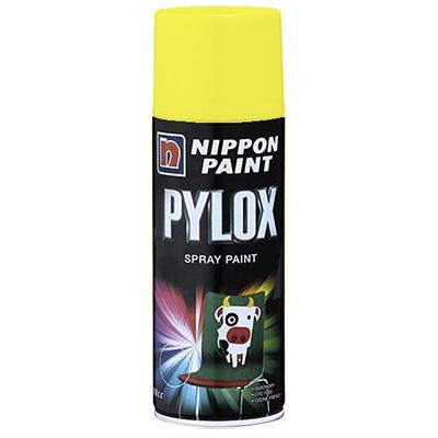 Nippon Paint Pylox Fluorescent Colours Spray Paint 400cc