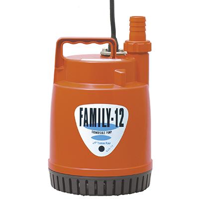 Tsurumi Electric Single-Phase Domestic Portable Submersible Drainage Pump Family-12