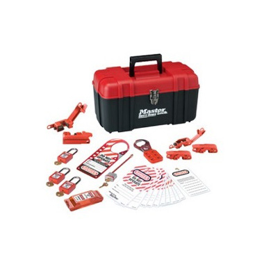 MasterLock 1457E410KA, Personal Electrical Lockout Kit