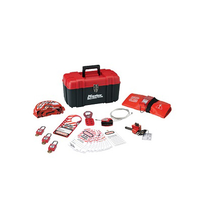 MasterLock 1457V410KA, Personal Lockout Valve Kit