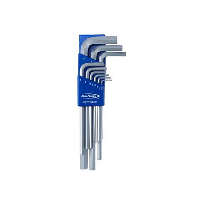 BluePoint BLWHKLS9, 9PC Long Arm Hex Key Set (Metric, MM)