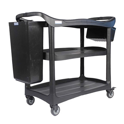 Supersteam Deluxe Dining Cart, 111.5 (L) X 52.4 (W) X 94 (H) CM