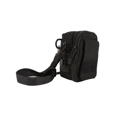 Outdoor Adventure, Military Grade, Sling Pouch Black