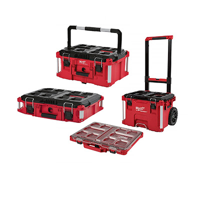 Milwaukee PackOut Combo 2 PACKOUT Rolling Tool Box and Organizer