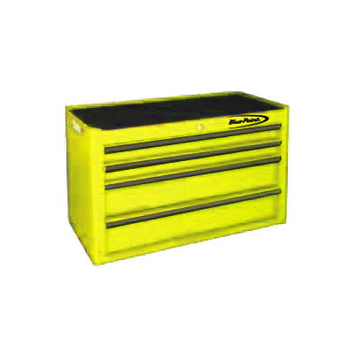 BluePoint KRB2041PES, 4 Drawers Classic Top Chest, Yellow Gloss