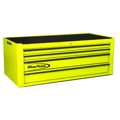 BluePoint KRB4041PES, 4 Drawers Classic Top Chest, Yellow Gloss