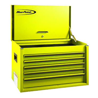 BluePoint KRB2055KPES, 5 Drawers Classic Top Chest, Yellow Gloss