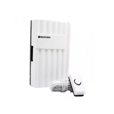 Soundteoh MDC-50, Mechanical Striking Wired Doorbell (Battery Operated)