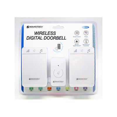 Soundteoh DD-123, Wireless Digital Doorbell (Battery Operated)
