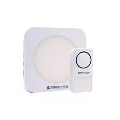 Soundteoh DA-11 Wireless Digital Doorbell With RGB Night Light (AC Operated)