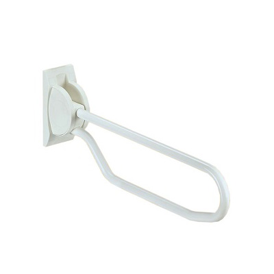 HardwareCity ABS Coated 700MM Hinged Up Support Grab Bar