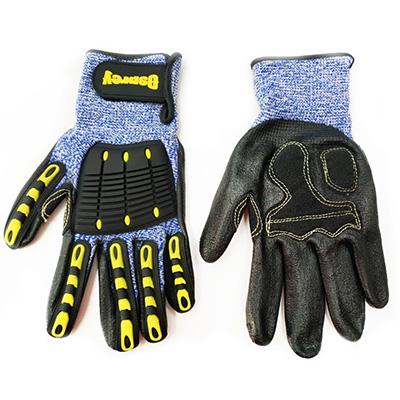 Osprey Anti-Impact Grip Gloves, Size 10, Level 5 Cut Resistance