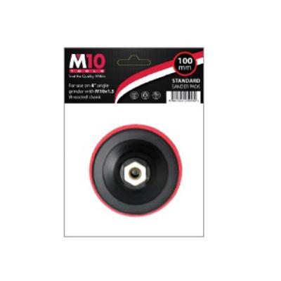 "M10 Sanding Pad 4""/100MM (M10 X 1.5 Thread)"