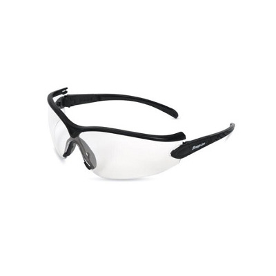 SnapOn GLASS31BK Safety Eye Wear (Black Frame / Clear Lens)