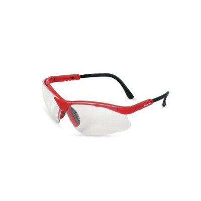 SnapOn GLASS30R Safety Eye Wear (Red Frame/ Clear Lens)