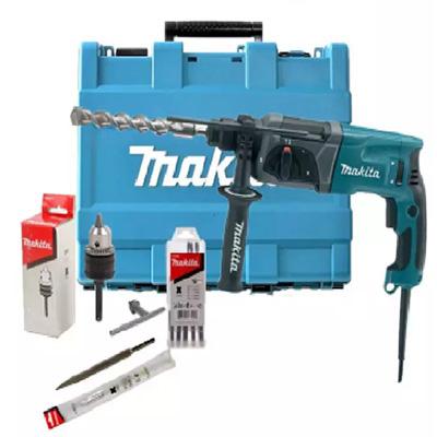 Makita HR2470X5 Combination Rotary Hammer Drill 24MM, SDS Plus
