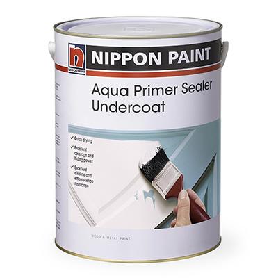 Nippon Paint Aqua Primer Sealer Undercoat White