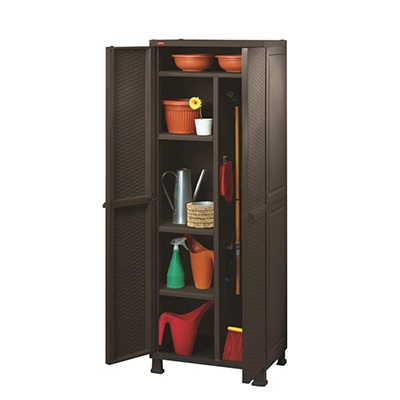 Keter Rattan Multipurpose Cabinet With Legs