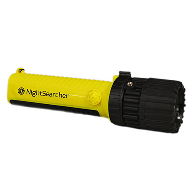 NightSearcher EX-Zoom, Safety Approved LED Flashlight (Adjustable From Spot To Flood Beam)