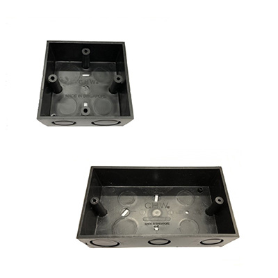 CHW Black Conceal Switch Socket Box