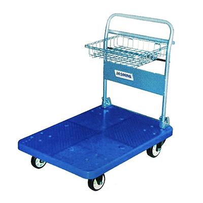 Jasmine Heavy Duty Trolley With Front Load Basket 300kg Load