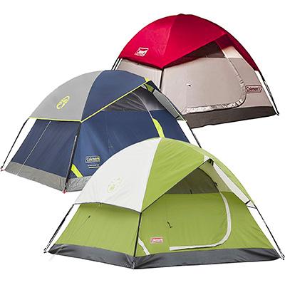 Coleman Sundome Tent (2P/3P/4P/6P)